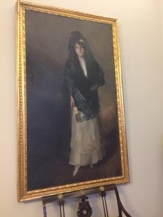 Painting at Sorolla Museum