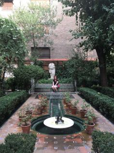 The Patio of the Sorolla Museum