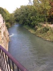 Tagus River alongside the palace