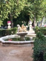 Fountain in Aranjuez' Queen's Garden