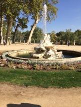 A fountain at the Aranjuez Gardens