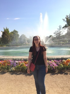 In front of the Ceres Fountain at Aranjuez