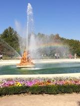 Ceres Fountain + Rainbow