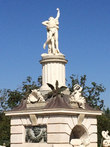 Hercules and Antaeus Fountain at Aranjuez