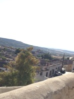 View from the mountain in Chinchón