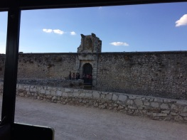 The castle in Chinchón