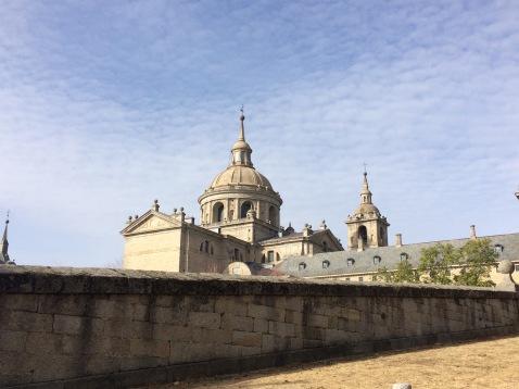 Approaching El Escorial