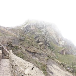 The mountain hiding the monastery