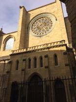 A church in San Sebastián